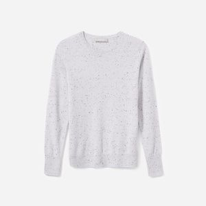 Everlane Cashmere Sweater Size Small Donegal Grey